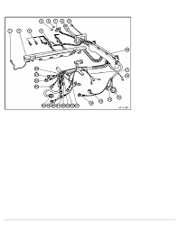 2 repair instructions 61 general electrical system 11 wiring harness 2 ra replacing section of engine