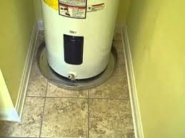 water heater drain pan installation.  Drain Home Inspector Nashville Locates Water Heater Issues New Constructionwmv Intended Drain Pan Installation YouTube