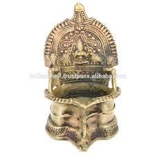 Handmade Traditional Kerala Bronze Lamp Decorative Oil Lamp 36 X