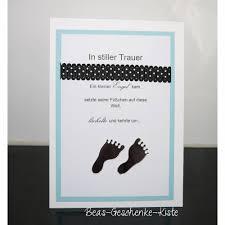 Trauerkarte Baby Kind Füße Auf Kasuwa Kaufen