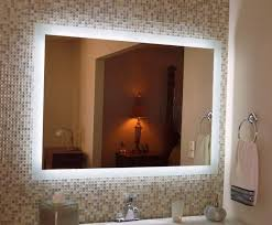 bathroom mirrors with lighting. Bathroom Mirrors With Lights Behind Lighting
