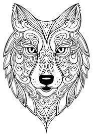 The wolf coloring sheets showcases wolves in their natural habitats as well as along with their offspring. Wolf To Print For Free Wolf Kids Coloring Pages