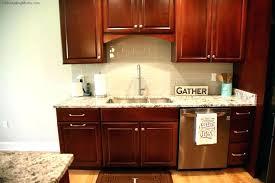 cherry cabinets with granite countertops cherry kitchen