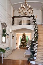Top 40 Stunning Christmas Decorating Ideas For Staircase