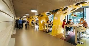 Interior Design Office Beautiful Munich Google With Campus In Dublin Dazzles  Color And Creativity