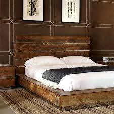 Reclaimed Wood Beds Reclaimed Wood Platform Bed Frame Pixels Luxury ...