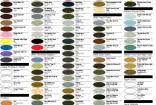 Testors Spray Paint Chart Color Charts By Testors Corp Hobby Bunker
