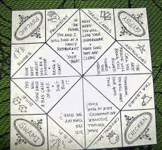 Origami Fortune Teller Paper Game Activity Shelter Fortune Teller Fortune Teller Ideas