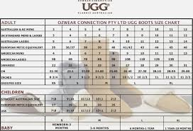 Baby Uggs Size Chart Ugg Baby Size Chart Home Decorating Ideas Interior Design