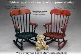 child s rocker childrens rocking chair heirloom rocking chair