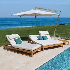 outdoor double chaise lounge casita