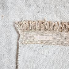 meraki cotton jute rug large