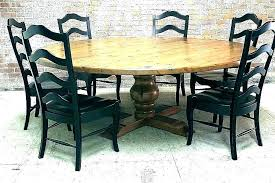chalk paint kitchen table painted ideas distressed black round