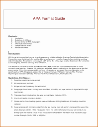 017 Psychology Research Paper In Apa Format Template New Help