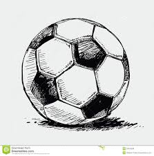 Drawn pice soccer ball - Pencil and in color drawn pice soccer ball