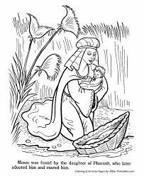 15 Baby Moses Coloring Page Baby Moses Coloring Pages Coloring Home