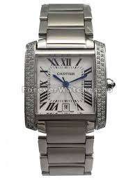 charming and special uk cartier tank replica watches hot selling classic swiss cartier tank francaise white dial copy watches for men