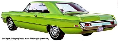 year by year history and photos of the chrysler plymouth valiant 1970 dodge dart swinger