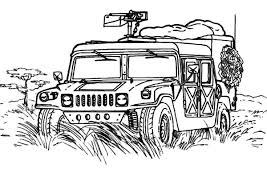 Small Picture Military Jeep Patrol Coloring Pages Color Luna