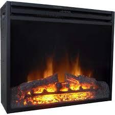 25 in freestanding 5116 btu electric fireplace insert