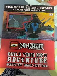 Lego Ninjago (Build your own adventure), Books & Stationery, Children's  Books on Carousell
