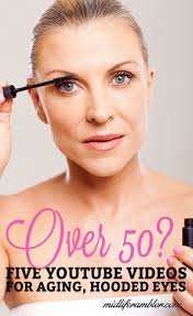 over 50 dealing with hooded eyes and crepey skin these videos will teach you