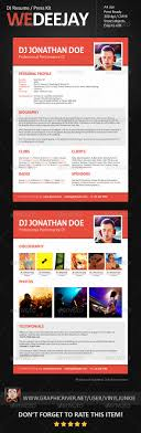 best images about dj press kit and dj resume templates on 17 best images about dj press kit and dj resume templates resume template dj logo and business cards