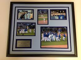kansas city royals photo collage and plate framed great gift idea