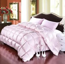fluffy duvet covers grade a natural 95 goose down comforter twin queen king size 750fp quilt hypo allergenic bedroom fluffy cozy warm white pink fluffy