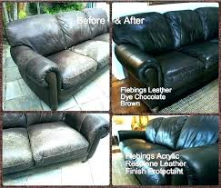 how to dye leather couch home improvement