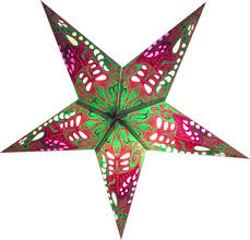 Christmas Star 60cm Paper Star Christmas Decoration