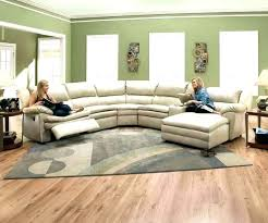 ed s curved leather sofa contemporary