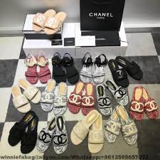 Replica Designer Slippers New Arrival For Chanel Sandals 2018 Replica Handbags