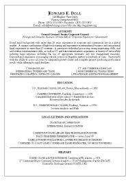 Corporate Attorney Resume Mesmerizing Corporate Lawyer Resume Sample