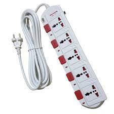 Ổ cắm Điện Quang ĐQ ESK 5W.SM750SL (5 lỗ 3 chấu dây 5 mét)