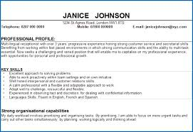 Sample Profile Statement For Resume 100 Sample Profile Statement For Resume SampleResumeFormats100 39