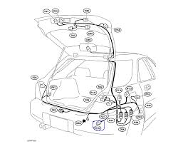 subaru impreza 2 5i wagon the wiring harness is located trailer