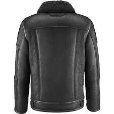 premium quality flight black leather jacket