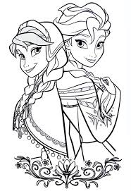 Le Principesse Di Frozen Da Colorare Cose Per Crescere