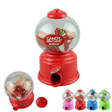 Vending Machine Toys Wholesale New 48 Wholesale Cute Mini Candy Gumball Dispenser Kids Toy Vending