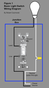 Basic Light Switch Wiring Switch Wiring Basics Wiring Diagram 500