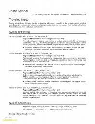Resume For Registered Nurse Beautiful Sample Nursing Resume Rn ...