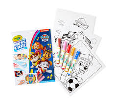 The series focuses on a boy named ryder who leads a pack of search and rescue dogs known as the paw patrol. Color Wonder Paw Patrol Coloring Pages Set Crayola Com Crayola