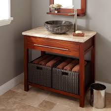 Used Bathroom Sinks Very Small Bathroom Storage Ideas High Minimalist Stained Wood