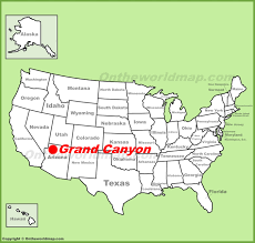 「the grand canyon map」の画像検索結果