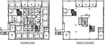 Office space plans Rectangular Floor Plan Modified Floor Plan Inprclub Cheap Office Space In Chelsea For Sublease Office Sublets