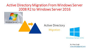 Windows Server 2008 R2 Versions Comparison Chart Active Directory Migration From Windows Server 2008 R2 To Windows Server 2016