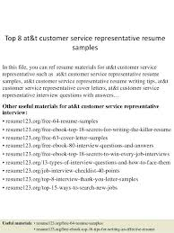Customer Service Representative Resume Samples Best Of Top 24 Customer Service Representative Resume Samples In This File