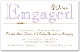 Engagement Invitation Format Custom Engagement Invitation Wording 48greetings
