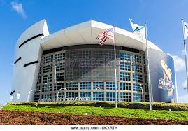 the american airlines arena on biscayne boulevard in downtown miami dkxrta